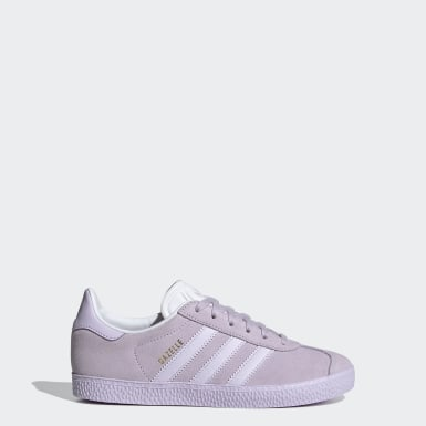 Zapatilla Gazelle Violeta Niño Originals