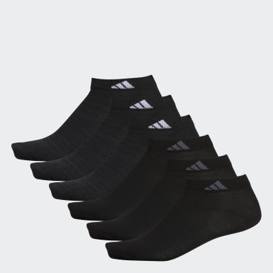 Men's Training Black Superlite Low-Cut Socks 6 Pairs