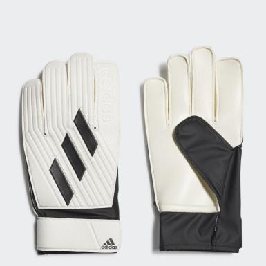 Football White Tiro Club Goalkeeper Gloves