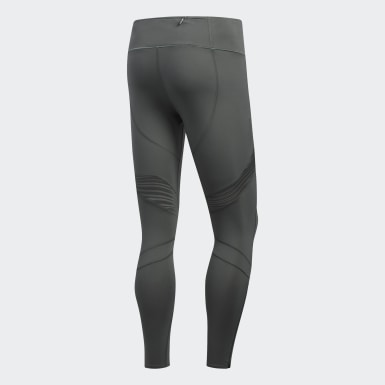 Mallas Largas How We Do - Corte Medio Gris Mujer Running