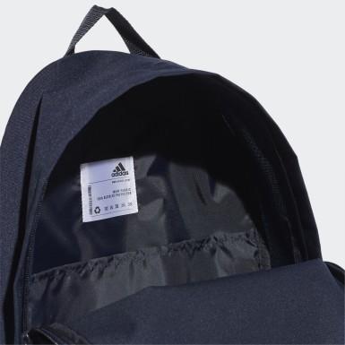 Classic Big Logo Backpack Niebieski