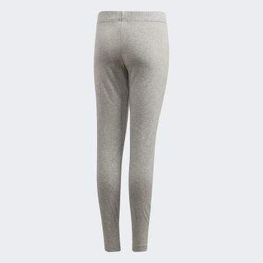 Youth 8-16 Years Athletics Grey Essentials Linear Leggings