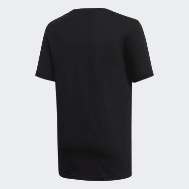 Playera Yb E Negro Niño Training