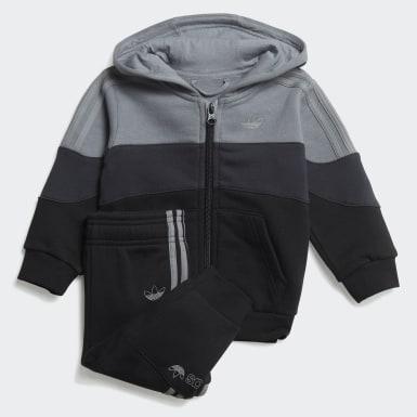 Børn Originals Grå BX-20 Full-Zip Hoodie sæt