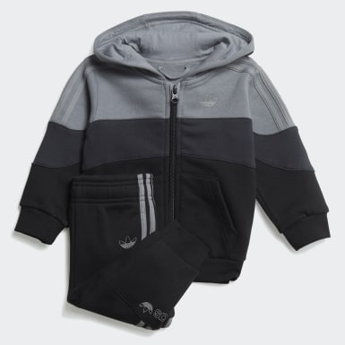 Kids Originals Grey BX-20 Full-Zip Hoodie Set