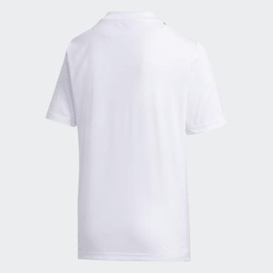 Camiseta Striped 19 Blanco Niño Training