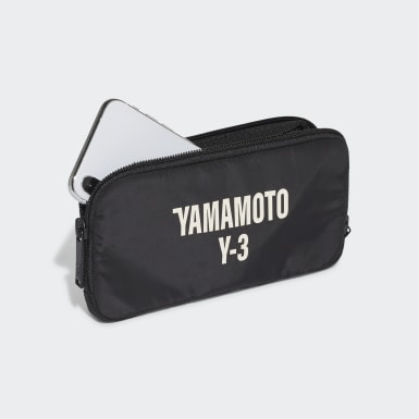 Y-3 Black Y-3 CH2 Graphic Pouch