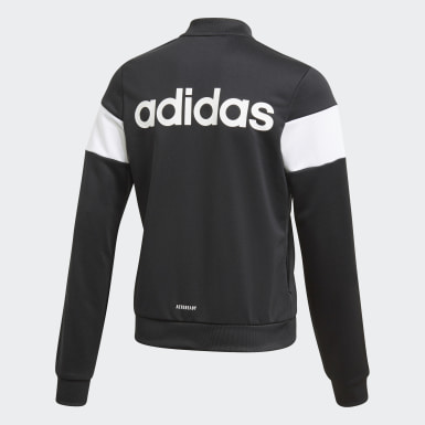 Youth Soccer Black Sereno Track Jacket