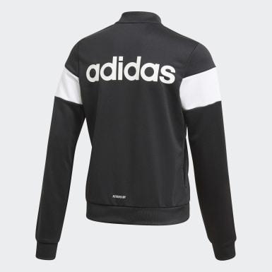 Veste de survêtement Sereno noir Adolescents Soccer