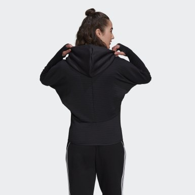 Frauen Athletics adidas Z.N.E. COLD.RDY Athletics Hoodie Schwarz