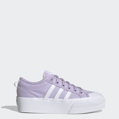 Women Originals Purple Nizza Platform Shoes