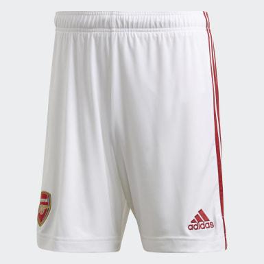 ผู้ชาย ฟุตบอล สีขาว กางเกงฟุตบอล Arsenal Home
