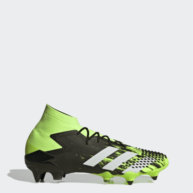 Men Football Green Predator Mutator 20.1 Soft Ground Boots