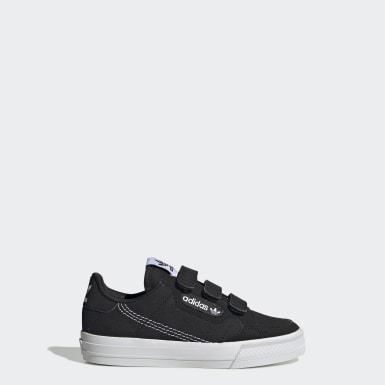 Kids 4-8 Years Originals Black Continental Vulc Shoes