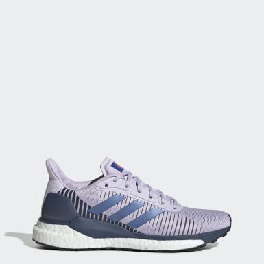 Dam Löpning Lila Solar Glide ST 19 Shoes