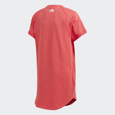 Dievčatá Athletics ružová Šaty