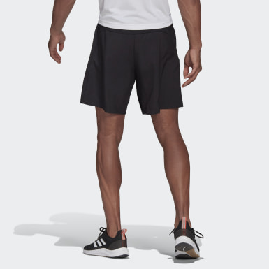 Shorts Esportivo AEROREADY Designed 2 Move Preto Homem Training