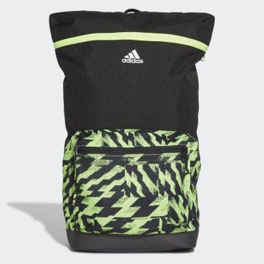 ไลฟ์สไตล์ สีเขียว กระเป๋าสะพายหลังพิมพ์ลาย 4CMTE