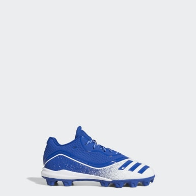 Children Baseball Blue Icon V Mid Cleats