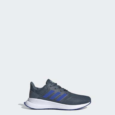 Kids 4-8 Years Running Blue Runfalcon Shoes