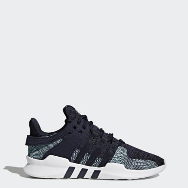 Men's Originals Blue EQT Support ADV Parley Shoes