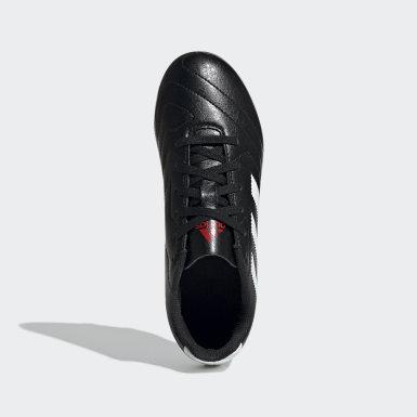 Botines Goletto VII Terreno Firme Negro Niño Fútbol