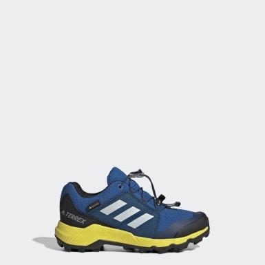 Çocuklar TERREX Mavi Terrex GORE-TEX Yürüyüş Ayakkabısı