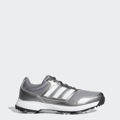 Men Golf Grey Tech Response 2.0 Golf Shoes