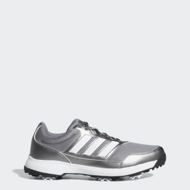 Men Golf Grey Tech Response 2.0 Golf Shoes