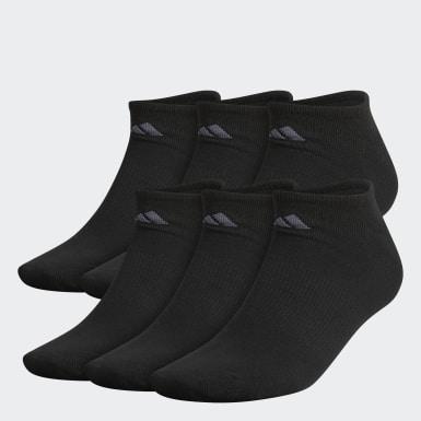 Men's Training Black Superlite No-Show Socks X-Large 6 Pairs