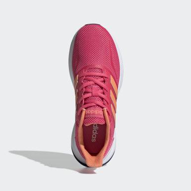 Kids Running Pink Runfalcon Shoes