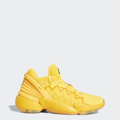 Sapatos D.O.N. Issue #2 Dourado Basquetebol