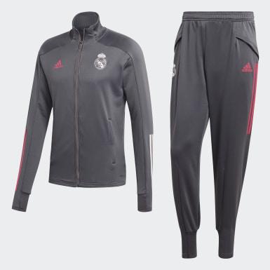 Conjunto Real Madrid Gris Hombre Fútbol