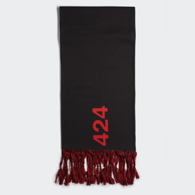 Men Originals Black 424 Oversize Scarf