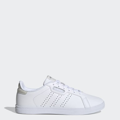 Women Essentials White Courtpoint CL X Shoes