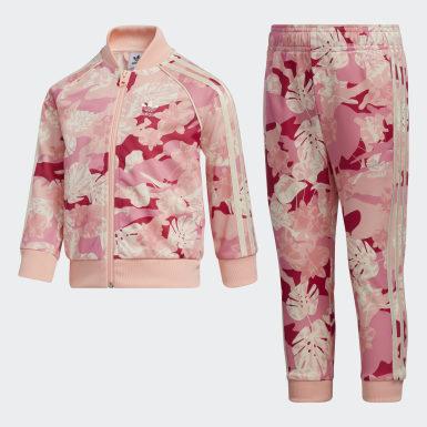 เด็ก Originals สีเบจ ชุดเสื้อและกางเกง SST