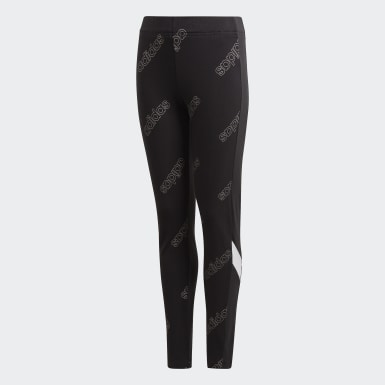 Youth Essentials Black Classics Tights