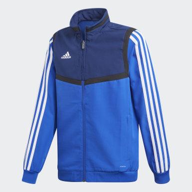 синий Парадная куртка Tiro 19