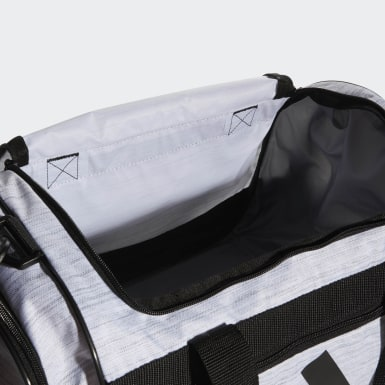 Training White Defender 3 Duffel Bag Small