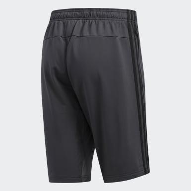 Men's Essentials Grey Essentials 3-Stripes Shorts