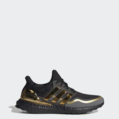 Men Running Black Ultraboost MTL Shoes