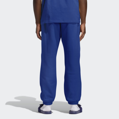Pantalon molleton Pharrell Williams Basics (Non genré) Bleu Originals