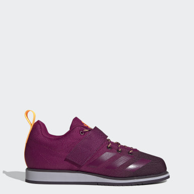 Women Weightlifting Burgundy Powerlift 4 Shoes