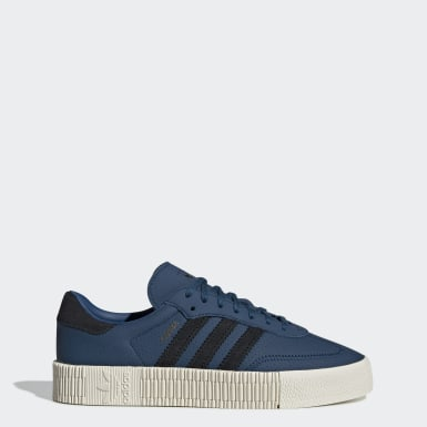 Frauen Originals SAMBAROSE Schuh Blau