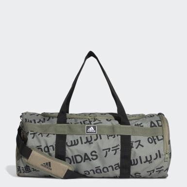 เทรนนิง สีเขียว กระเป๋าดัฟเฟิลขนาดกลาง 4ATHLTS