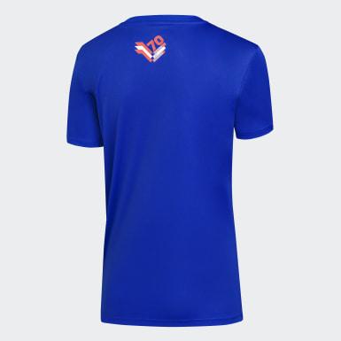 Camiseta U. de Chile adidas 70 años Mujer Azul Mujer Fútbol