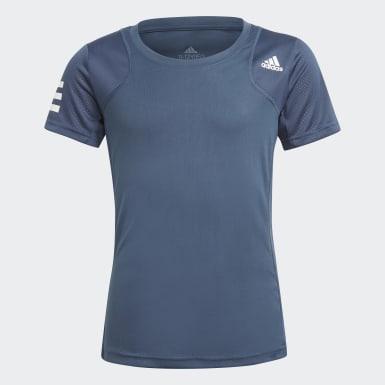 T-shirt Club Tennis Blu Ragazza Tennis