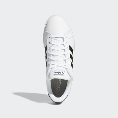 Essentials White Grand Court Shoes