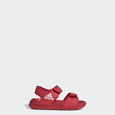 เด็ก ว่ายน้ำ สีแดง รองเท้าแตะ AltaSwim