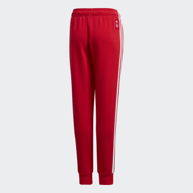 Youth Soccer Red Arsenal Sweat Pants